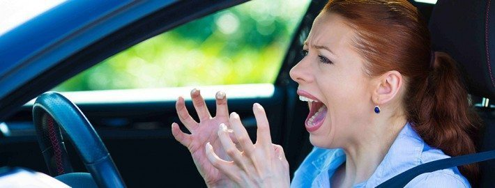 Avoid collision repair cost through road rage management