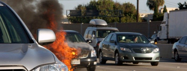 Vehicle Fires. Ask Collision Center of Andover for collision repair services.