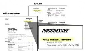 Car Insurance Claim Card 1