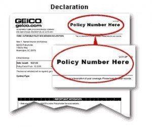 Car Insurance Claim Card 2