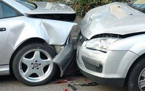 2 vehicles crashed into each other where you may need to file an accident car insurance claim