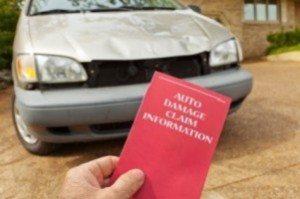 car insurance claim pamphlet