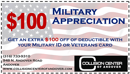 Collision MIlitary Discount Coupon - Coupon Military