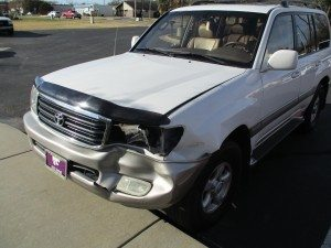 2000 Land Cruiser - Before