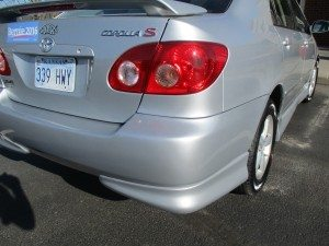 2006 Toyota Corolla fixed