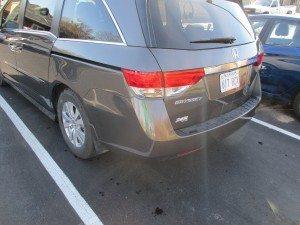 2012 Honda Odyssey - After