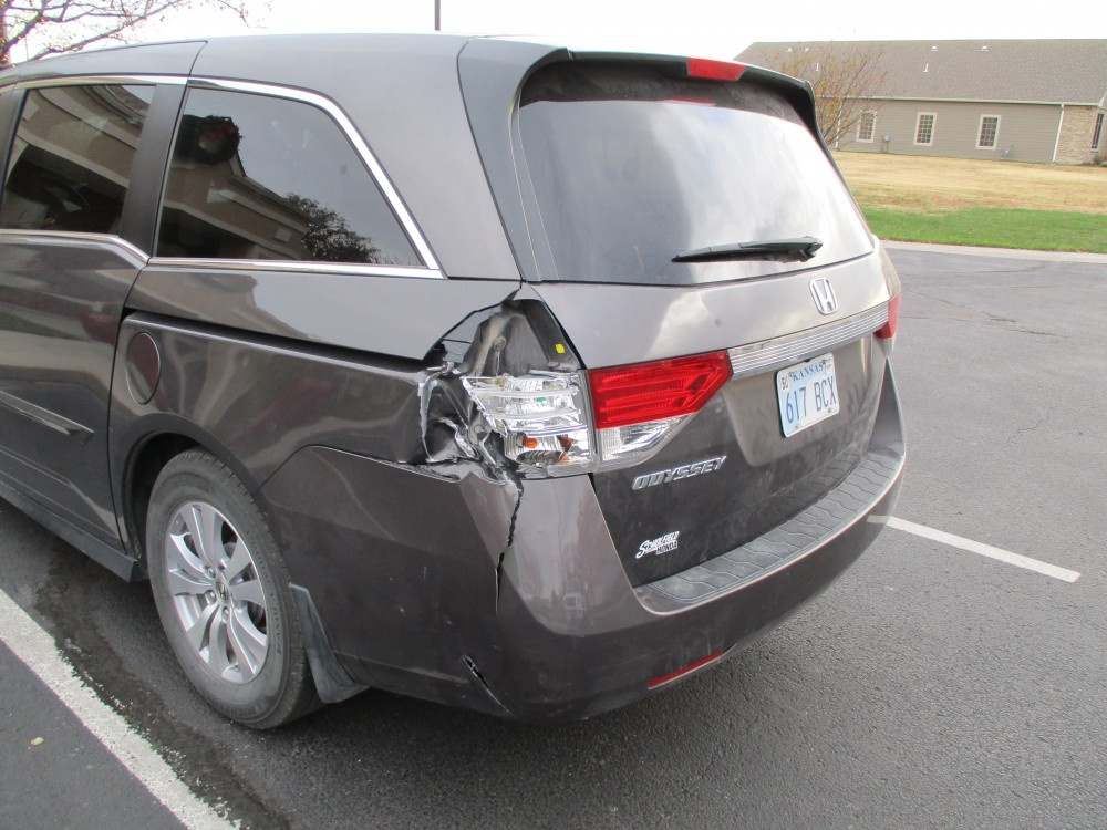 2012 Honda Odyssey - Before