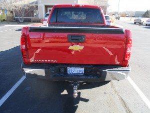 2013 Chevrolet Silverado repaired