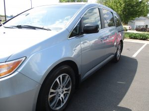 Auto body fixed Odyssey damage