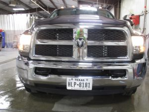 Dodge Ram in Andover auto body shop
