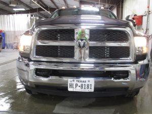 Dodge Ram in Andover auto body shop