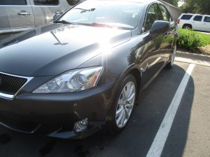 lexus shiny and clean without dents