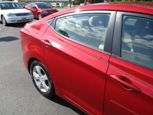 Hyundai looking brand new after repairs