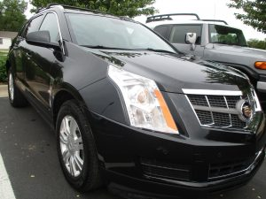 Andover Collision fixed this cadillac