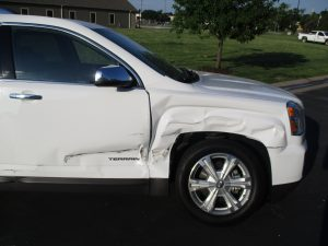 GMC terrain post accident