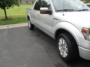 after picture of auto body repair at Collision Center of Andover