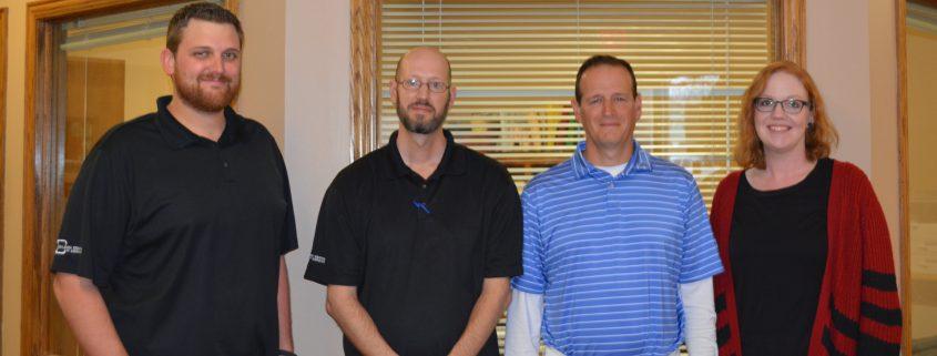 staff at Collision Center of Andover, a full service body auto repair shop serving the Wichita area.