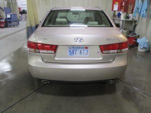 Baker - 2007 Hyundai Sonata - After