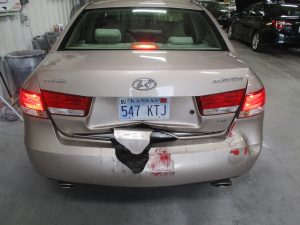 Baker - 2007 Hyundai Sonata - Before