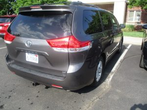 Ballinger - 2012 Toyota Sienna - After