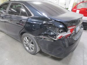 Burk - 2015 Toyota Camry - Before
