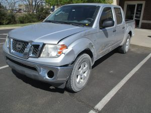 Hall - 2009 Nissan Frontier - Before