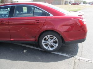 Hamilton - 2013 Ford Taurus - Before