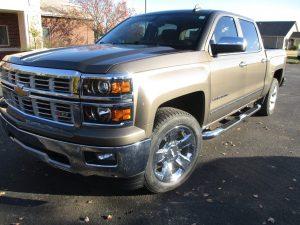 Nichols - 20105 Chevrolet Silverado - After