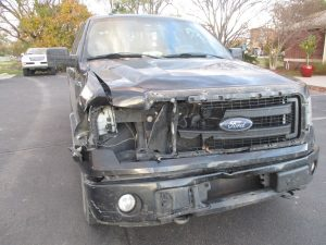 Wood - 2013 Ford F-150 - Before