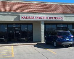 DMV office in Andover, KS