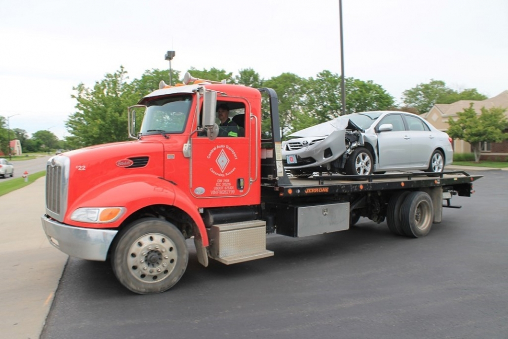 Towing available in Wichita, Andover and surrounding area